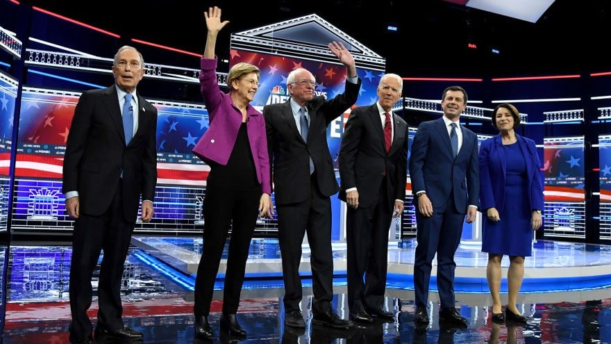 image for FIGHT NIGHT! Debate Breaks Ratings Record, Most Watched Democratic Debat...