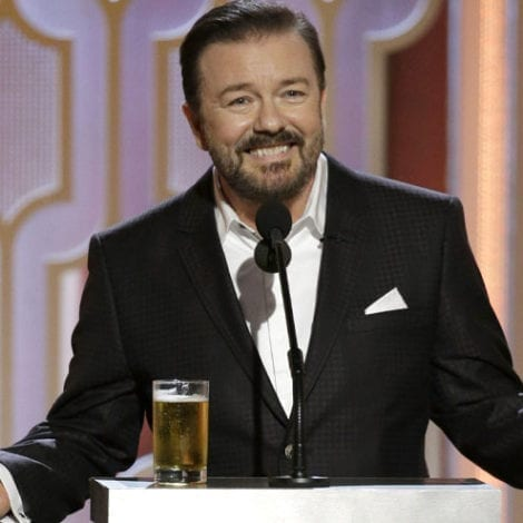 RICKY GERVAIS on OSCAR RATINGS DISASTER: 'I Tried to Warn Them!'