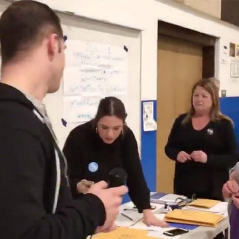 CAUCUS CHAOS: Watch Democrats 'Flip a Coin' to Decide Which Candidate Wins a Delegate