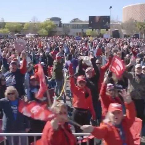 MAGA CAROLINA: Trump to Hold Massive South Carolina Rally on Eve of Democratic Primary