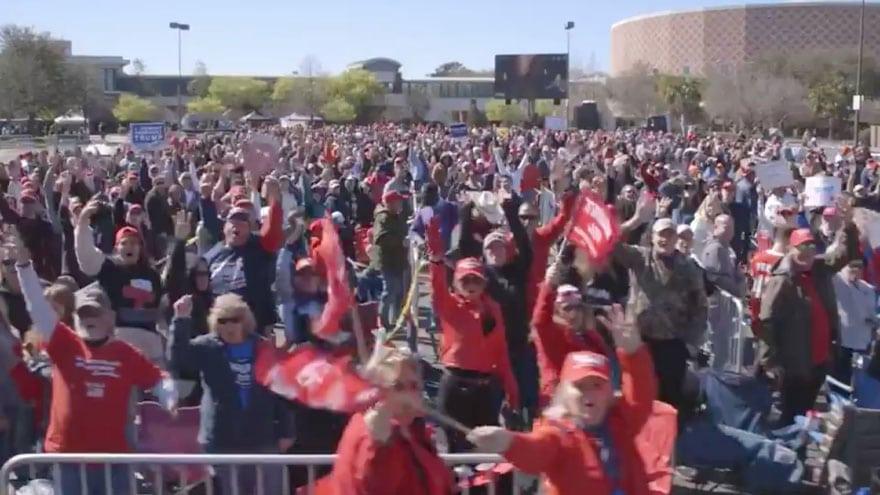 image for MAGA CAROLINA: Trump to Hold Massive South Carolina Rally on Eve of Demo...