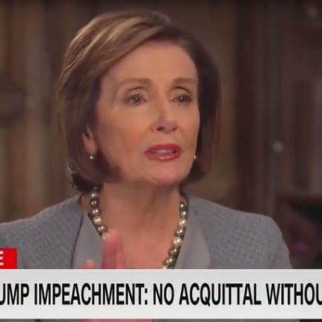 TOTAL DENIAL: Pelosi Claims Trump Was Never 'Acquitted' by Senate, Will be 'Impeached Forever'