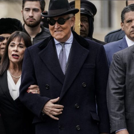 BREAKING: Judge Sentences Roger Stone to 40 Months in Prison for Lying, Witness Tampering