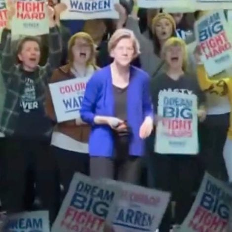 WARREN GOES OFF: Warren Says Bloomberg Blames 2008 Financial Crisis on 'African Americans and Latinos'