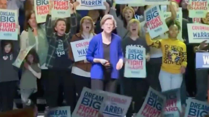 image for WARREN GOES OFF: Warren Says Bloomberg Blames 2008 Financial Crisis on '...
