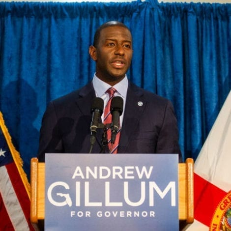 UPDATE: Andrew Gillum Entering Rehab After Miami Incident, 'Stepping Down' from Politics