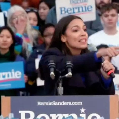 MUDDLED MESSAGE? AOC Stumps for Bernie, Tells Voters They Must 'Adapt, Open a Posture of Acceptance'