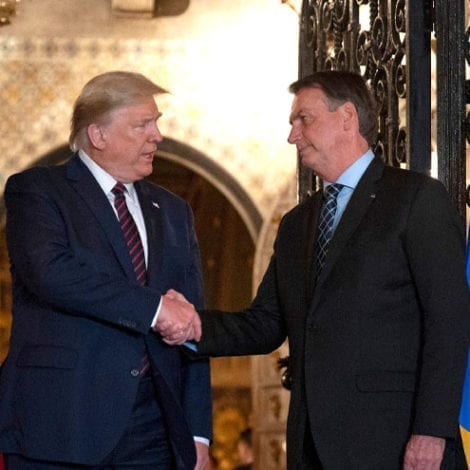 DEVELOPING: Brazil's Leader Tests Positive for Coronavirus After Meeting President Trump in Florida