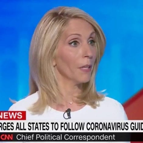 WATCH: CNN Host Calls Trump's Coronavirus Address 'Remarkable,' Says 'Being the Leader People Need'