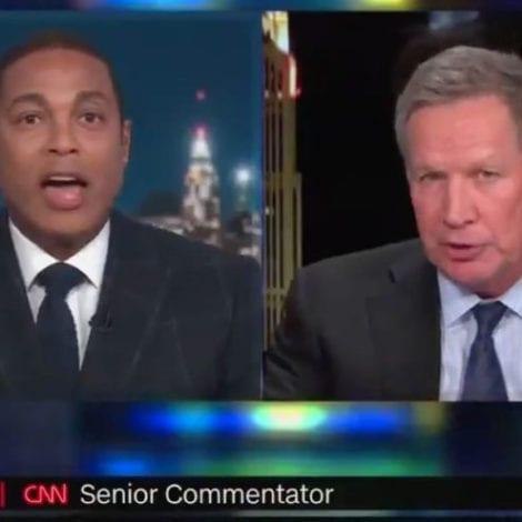LEMON LOSES IT: CNN Host Has On-Air Meltdown, Tantrum After Kasich Says Trump Address 'Fine'