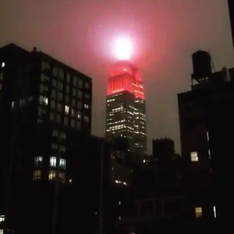 CODE RED: New Yorkers Disturbed by Empire State Building's 'Siren Display' During Pandemic