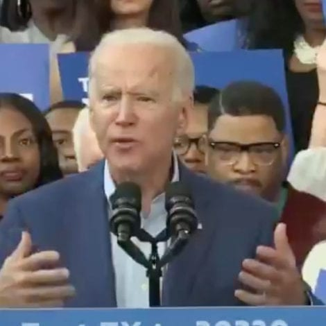 BIDEN on DECLARATION: 'All Men and Women Are Created, by the, Co… You Know… The Thing'