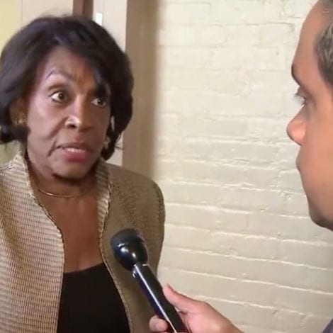 MAXINE WATERS: President Trump 'Should Shut His Mouth and Be Quiet' Over Coronavirus Outbreak