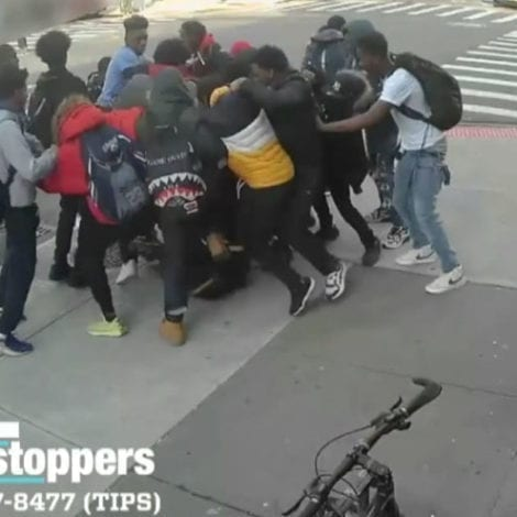 CHAOS in NYC: Group of Teens Beat, Stomp 15 Year Old Girl for Her Sneakers, NYPD Searching for Suspects