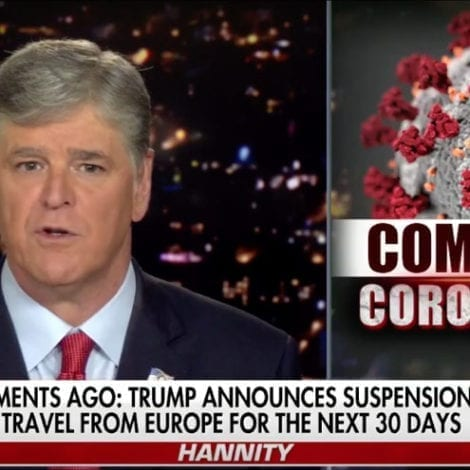 HANNITY: The Coronavirus Doesn't Discriminate Based on Political Affiliation or Party Membership