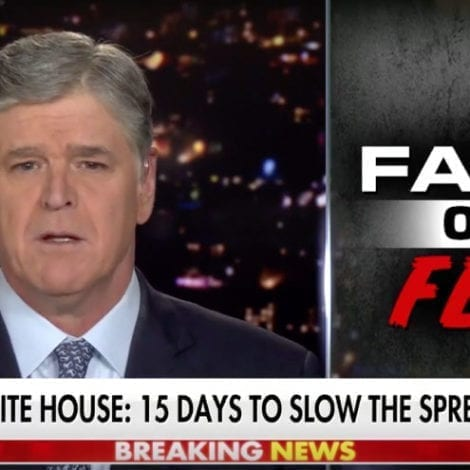 HANNITY: America Faces a Crucial Moment to Slow the Spread of Coronavirus