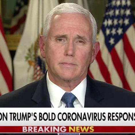 PENCE ON HANNITY: Tens of Thousands of Coronavirus Tests Available in Days Ahead