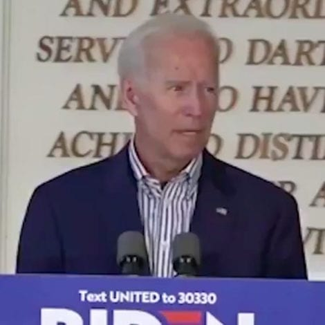 WINNING PLATFORM? Biden Says Goal is to Make Healthcare 'Not About Quality, But Only Affordable'