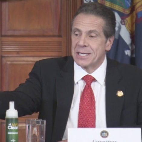 CUOMO'S PLAN: New York Unveils Prison-Made Hand Sanitizer to Stop Price Gauging at Local Shops