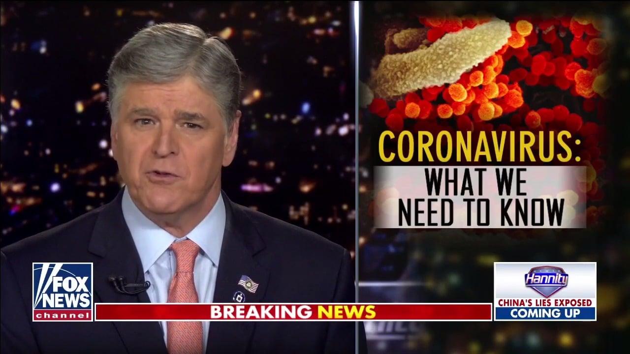 Hannity Coronavirus