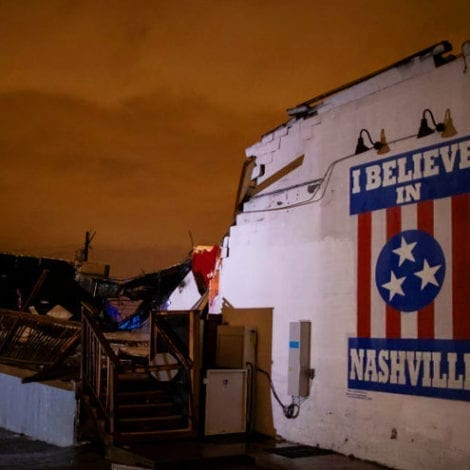 TRAGEDY IN NASHVILLE: Overnight Tornado, Severe Weather Kills At Least 9 in Tennessee