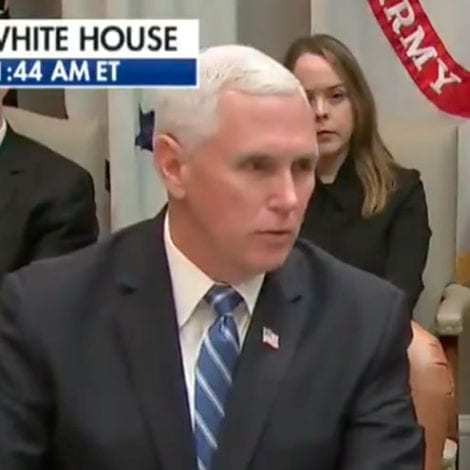 BREAKING: Pence Confirms Insurance Companies Agree to Waive All Co-Pays on Coronavirus Testing, Treatment