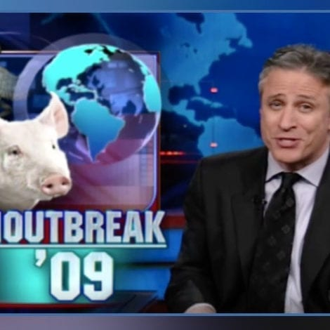FLASHBACK: Jon Stewart, Others Mock 2009 'Swine Flu' Outbreak, Disease Killed 12,000 Americans