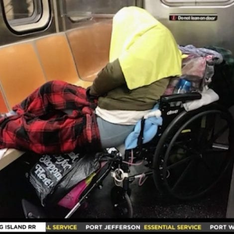 CHAOS NYC: Subway Conductors Say Trains 'Filthier Than Ever' from 'Astronomical Amount of Homeless People'