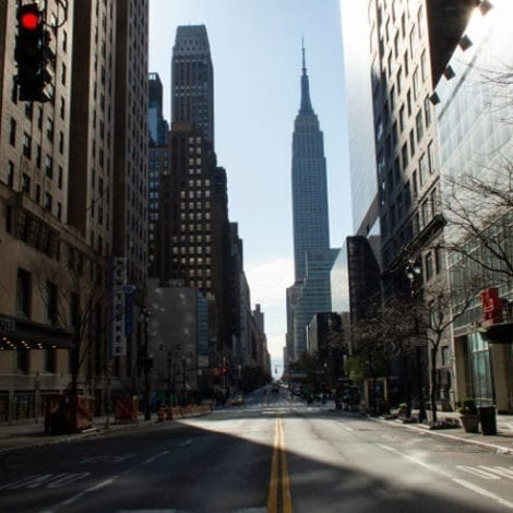 BIG APPLE CLOSED: Study Shows 95% of New Yorkers in Isolation to Stop Spread of Coronavirus