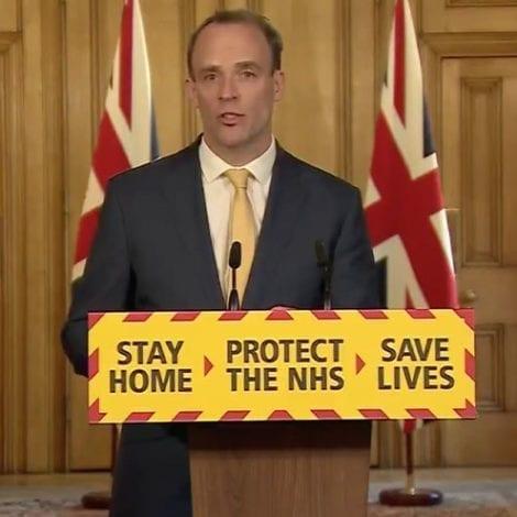 UPDATE: UK Foreign Secretary 'Confident' Prime Minister Will 'Pull Through' Coronavirus Battle