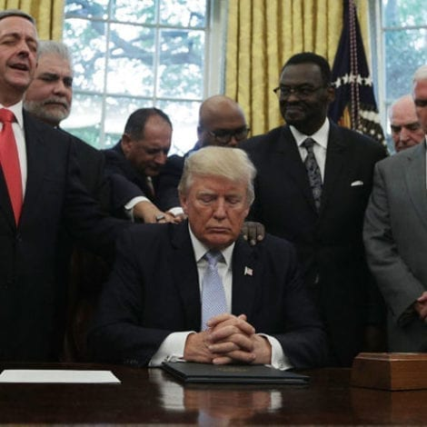 TRUMP ON PRAYER DAY: 'As Our Nation Heals, Our Spirit Has Never Been Stronger!'