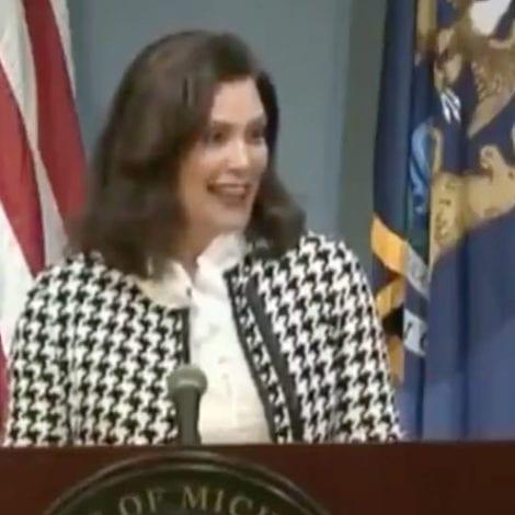 JUST RAKING LEAVES! Michigan Gov Admits Husband Traveled to Second Home to 'Rake Leaves' During Pandemic