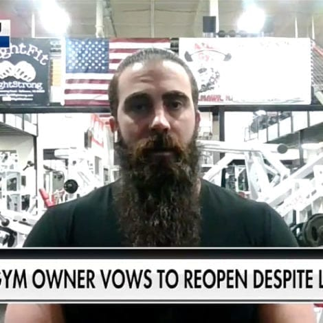 GYM SAYS 'ENOUGH': NJ Gym Defies Governor's Order, Opens for Business, Says 'We Will Not Stand Down'