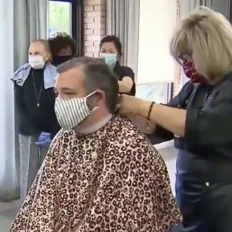 CRUZ GETS A CUT! Ted Cruz Visits Dallas Salon After Owner Released from Texas Prison