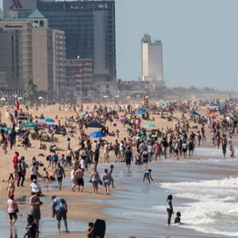 FORGET IT: Virginia's Democratic Gov Ditches Beach Restrictions After Thousands Defy His Order