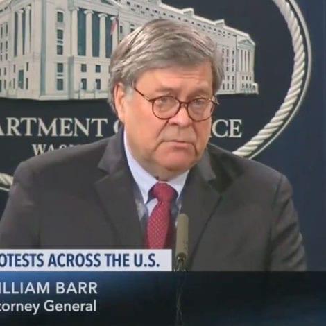 BREAKING: Attorney General Says DOJ Has Evidence Antifa 'Hijacking' George Floyd Protests
