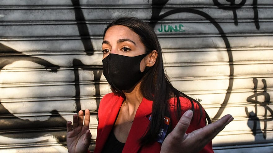 NOT RADICAL ENOUGH? AOC Rips 'Xenophobic and Racist' Refugee Policies… of JOE BIDEN