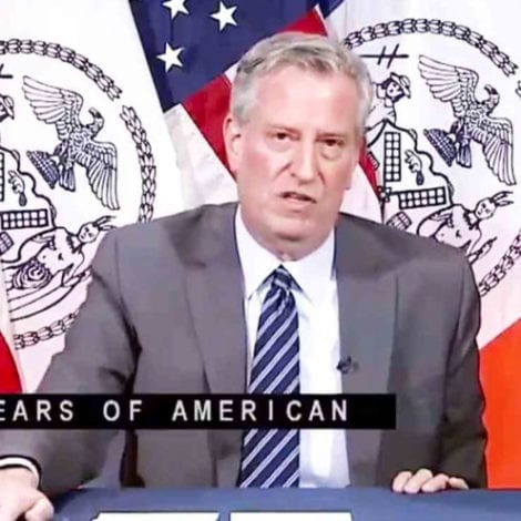 DE BLASIO: Protesters Can Defy Lockdown Because of '400 Years of Racism,' Not the Case for 'Religious People'