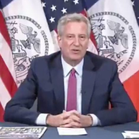 WATCH: De Blasio Says He's 'Proud' of Daughter's Arrest, 'Admires' She Was 'Out There Doing Something'