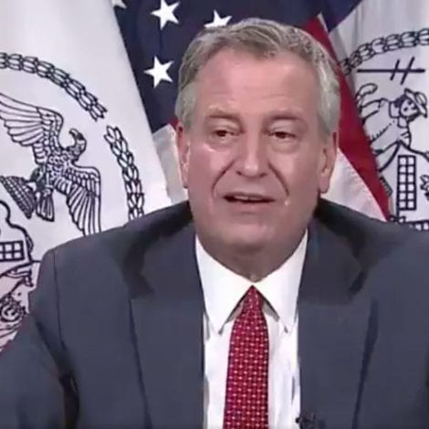 DE BLASIO SPIRALS: 2 NYPD Shot, 1 Stabbed, Mayor Says Protests Remind Him of John Lennon's 'Imagine'