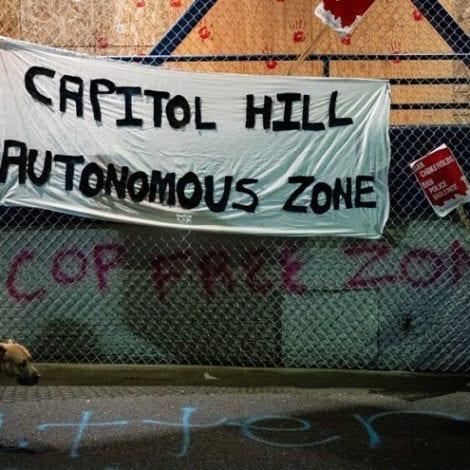LAWLESS IN SEATTLE: Protesters Seize City Hall, Demand Mayor's Resignation, Declare 'Autonomous Zone'