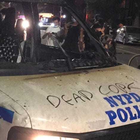 BACKLASH: NYPD Union Blasts De Blasio, Says Mayor's Daughter an 'Object-Throwing Rioting Anarchist'