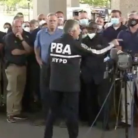 'GOD BLESS YOU!' Union President Delivers Incredible Message to NYPD, Never 'Apologize for the Shield!'