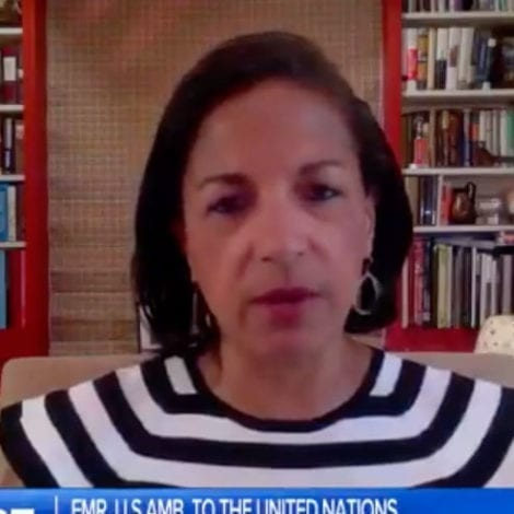 SUSAN RICE EXPLODES: Former NSA Says Trump Supporters Belong in the 'Trash Heap of History'