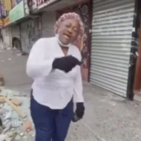 'GET A JOB!' Bronx Business Owner EDUCATES Looters, 'You Needed Money! Stop Stealing!'