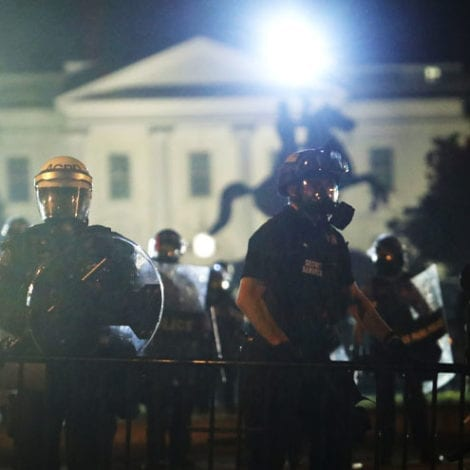 CHAOS DC: 50 Secret Service Members Injured, Riots Outside White House, Trump Rushed to Bunker