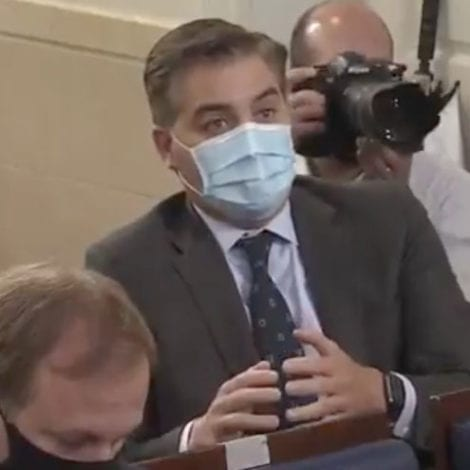 CNN MELTDOWN: Jim Acosta Says Protests Fine During Pandemic Because 'They're Against Racism'
