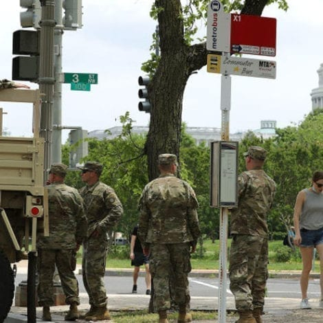 SHOWDOWN DC: Hundreds of National Guard Troops Deployed to Protect Statues, Monuments