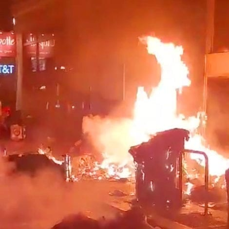 SEND SOMEONE: Portland Police Dept Tells Rioters to 'Remove the Items Now' on TWITTER at 2:14AM