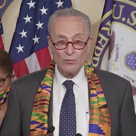 SCHUMER: 'Democrats Will Not Let This Go Away,' Racism Impacting 'Housing, Healthcare, Education, Jobs'